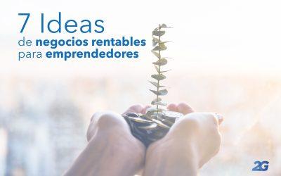 7 Ideas de negocios rentables para emprendedores
